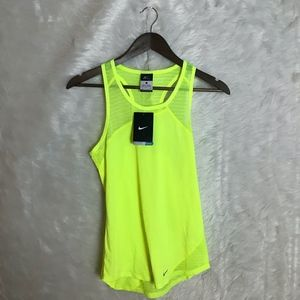 NWT Nike Dry-Fit  Running Tank with Mesh Woman's S